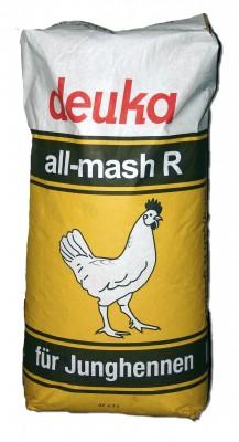deuka all mash R Aufzucht Junghennen Mehl 25 kg