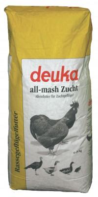 deuka all mash Zucht Mehl 25 kg