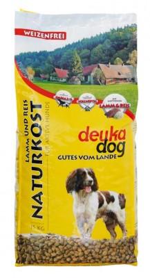 deuka dog Naturkost mit Lamm und Reis 5 kg oder 15 kg (SPARTIPP: unsere Staffelpreise)