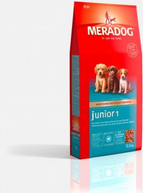 Mera Dog Junior 1 kleine & mittlere Rassen 4 kg oder 12,5 kg (SPARTIPP: unsere Staffelpreise)