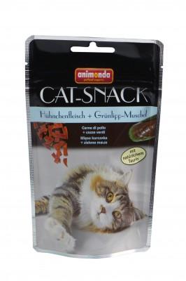 Animonda Cat Snack Hühnchenfleisch und Grünlipp Muschel 6 x 50 g