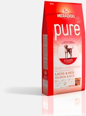 Mera Dog Pure Lachs & Reis 4 kg oder 12,5 kg (SPARTIPP: unsere Staffelpreise)