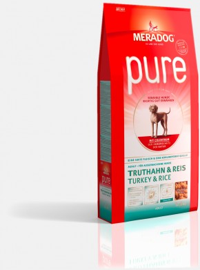 Mera Dog Pure Truthahn & Reis 2 x 12,5 kg (Staffelpreis)