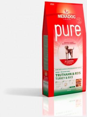 Mera Dog Pure Senior Truthahn & Reis 4 kg oder 12,5 kg (SPARTIPP: unsere Staffelpreise)